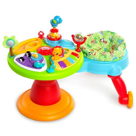 the doodle bugs around we go activity center bright starts safari activity table brokeasshome