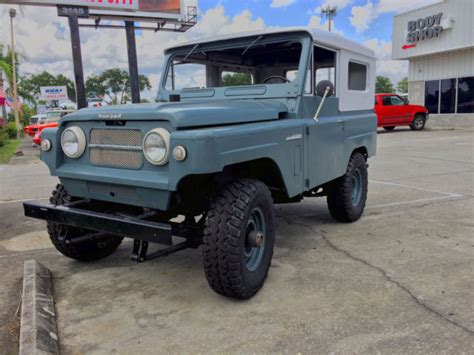 1968 nissan patrol 1968 nissan patrol k60 blue with white top for sale in