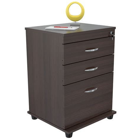 One Drawer File Cabinet Inval America Uffici File Cabinet With Two Accessory Drawers And 1 File Drawer Beyond Stores