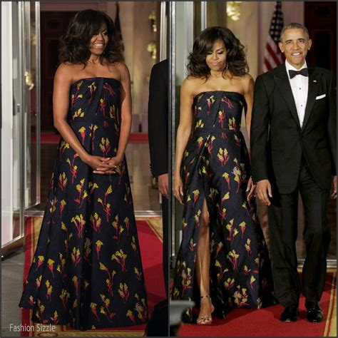 michelle obama jason wu michelle obama in jason wu state dinner for the canadian