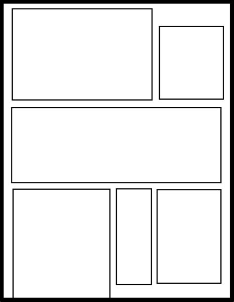 pages template smt 40 by comic templates on deviantart