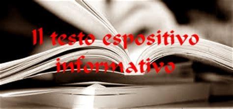 esempi di testi espositivi il testo informativo unascuola it