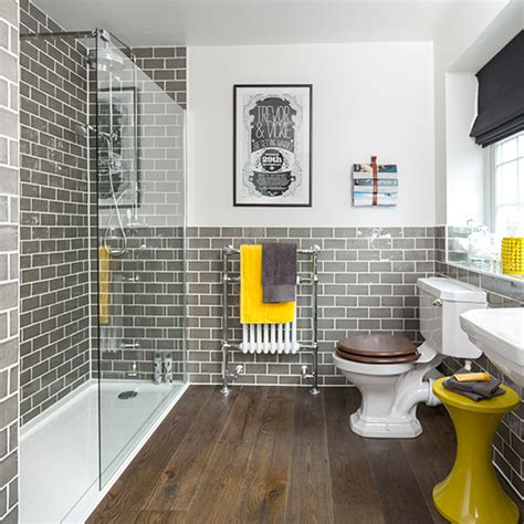 bathroom ideas to make the most of bright colours ideal home