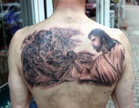god vs devil tattoo designs the 25 best ideas about satanic tattoos on