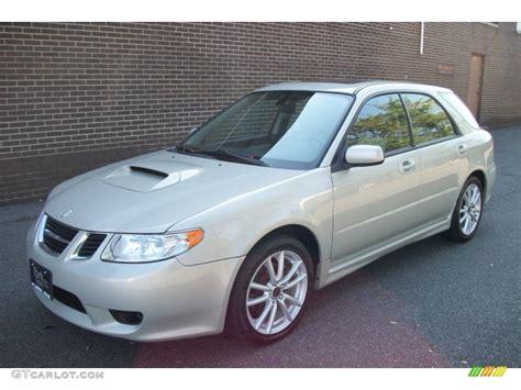 saab 9 2x aero desert silver metallic 2005 saab 9 2x aero wagon exterior