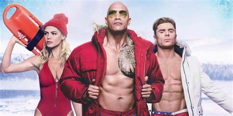 baywatch movie 2016 cast baywatch super bowl tv trailer hits the beach screen rant