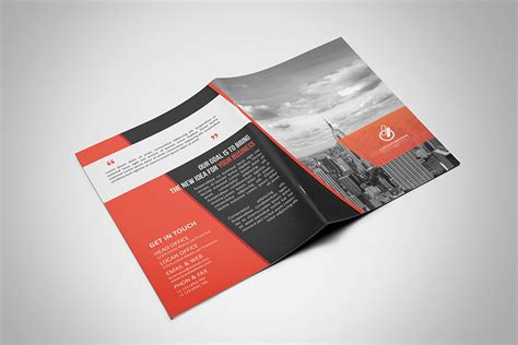 Bi Fold Paper - bi fold tri fold brochure template on behance