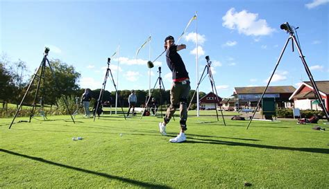 video golf swing analysis golf qualisys