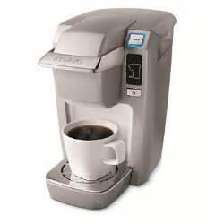 Keurig mini b31 coffeemaker chrome by keurig item 611965 model 108553