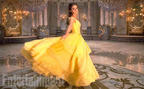 emma watson yellow dress emma watson as belle in beauty and the beast costumes