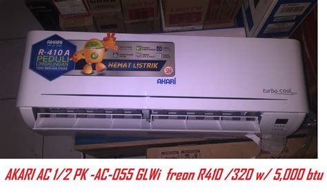 Outdoor Ac 1 2 Pk jual akari ac 1 2 pk ac 055 glwi indoor outdoor