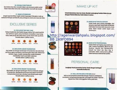 Katalog Makeup Wardah wardah cosmetics palu katalog