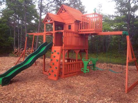 sky fort swing set backyard discovery swing set installation ma ct ri nh me