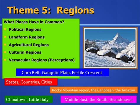 5 themes of geography on italy five themes of geography