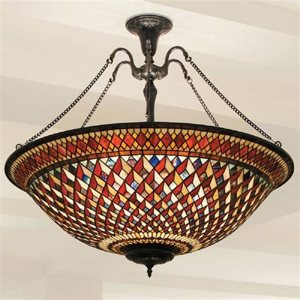 large uplighter ceiling pendant light