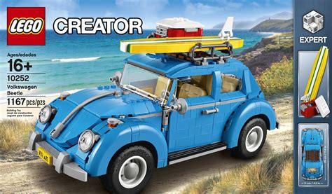 lego creator expert  volkswagen beetle lannonce officielle hellobricks blog lego