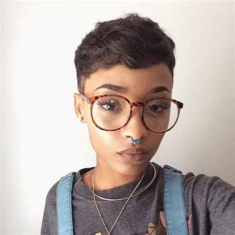 hairstyles with glasses tumblr cute glasses piercing pretty short hair tumblr