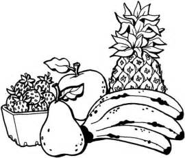 colouring pages fruit basket free coloring pages art coloring pages