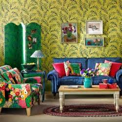 Shop Bohemian Home Decor by Bohemian Style Living Room Colourful Living Room Ideas