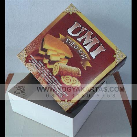 Dus Kertas Kemasan Satuan Handshock kotak roti