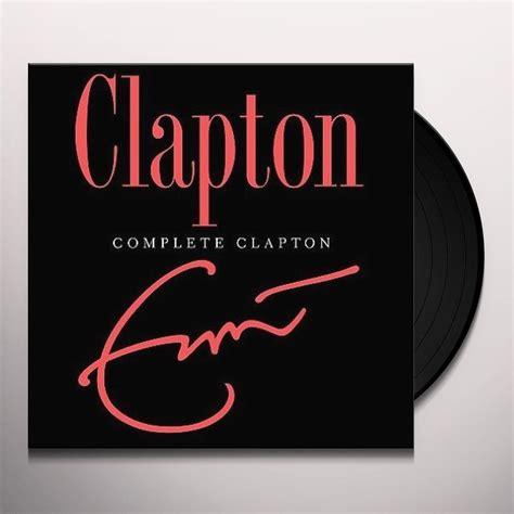 Eric Clapton Vinyl - eric clapton complete clapton vinyl record