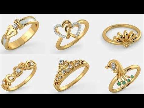 Golden Ring New Design by Gold Ring New Design Designs Of Gold Rings For