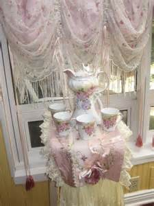 Curtain With Attached Valance Shabby Chic Curtains And Window Dressing Ideas The
