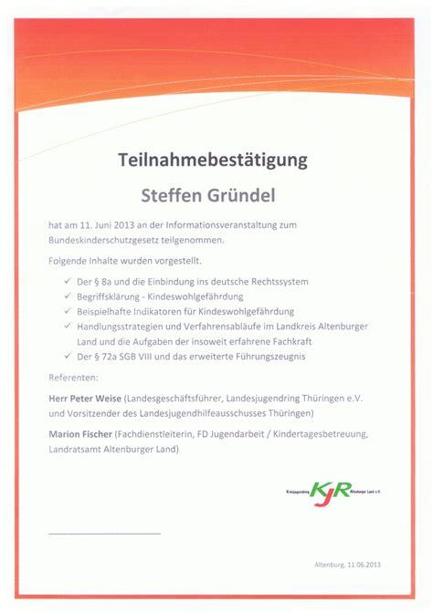 Bestätigung Schreiben Muster Kostenlos Policat Teilnahme An Informationsveranstaltung Zum Bundeskinderschutzgesetz Am 11 06 2013 In