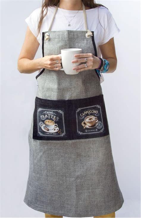 Apron Celemek Fashion Chef Barista barista apron free pattern robert kaufman fabric company