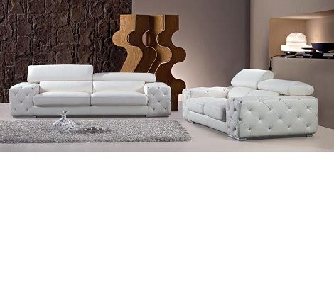 tufted sofa set dreamfurniture modern tufted leather sofa set with