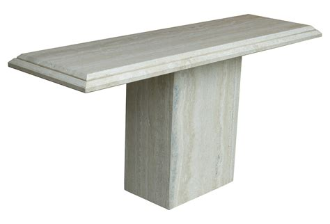 Travertine Sofa Table Travertine Console Table From Ello Modernism