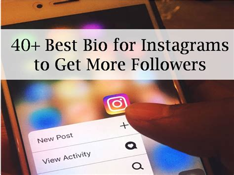 good bio for instagram to get more followers 40 best bio for instagrams to get more followers