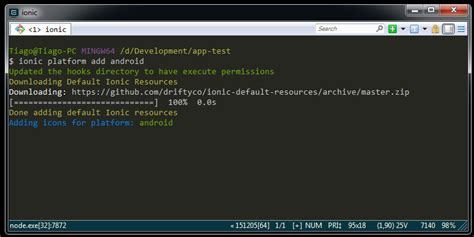 tutorial ionic windows environment setting tutorial ionic android on windows
