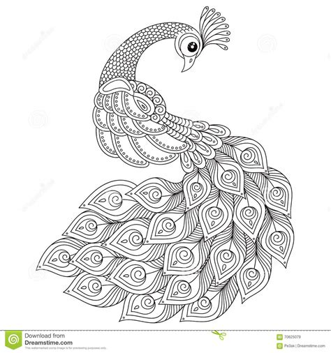 coloring pages printable peacocks stress relief coloring pages peacock adult antistress coloring page black and white