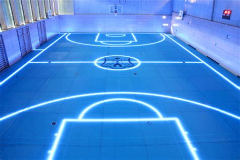 game design university germany amazing tron basketball court becomes a reality glass