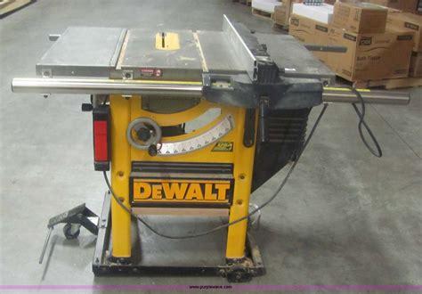 Dewalt Dw746 10 Quot Table Saw Item 6101 Sold January