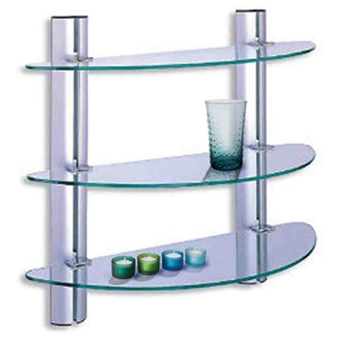 Glass Shelves Bathroom Wall Glass Shelves For Bathroom Decor Ideasdecor Ideas