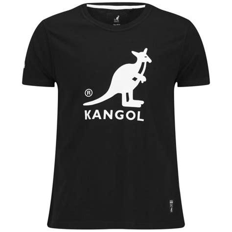 kangol s bando printed t shirt black clothing zavvi