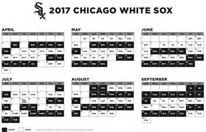 2017 mlb schedule cubs at cardinals white sox host