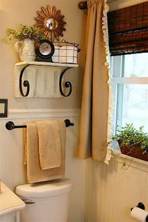 decorating ideas for bathroom shelves awesome over the toilet storage organization ideas