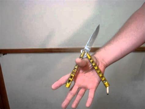 cool knife tricks butterfly knife tricks zen rollover