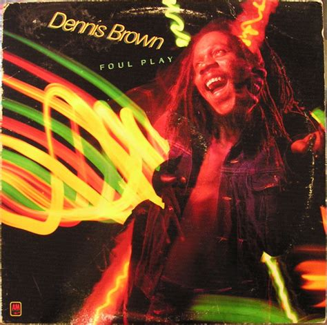Brown Play dennis brown foul play records lps vinyl and cds
