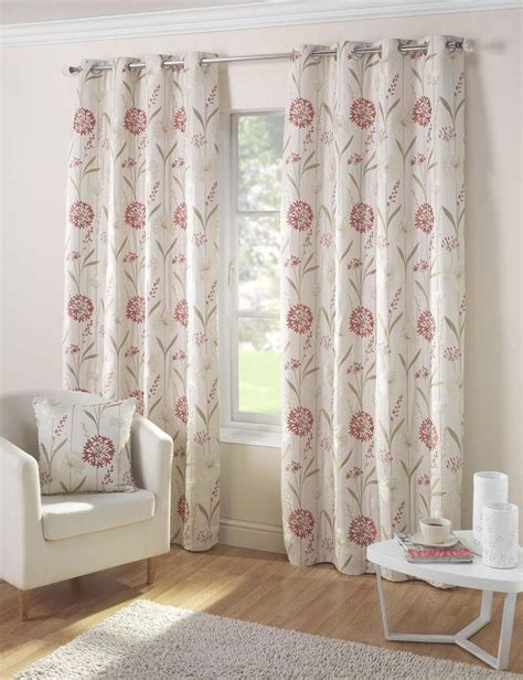 eyelet fabric curtains santorini ready made eyelet curtains in coral terrys