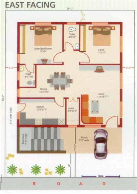double bedroom independent house plans overview seetharuram near bhel hyderabad