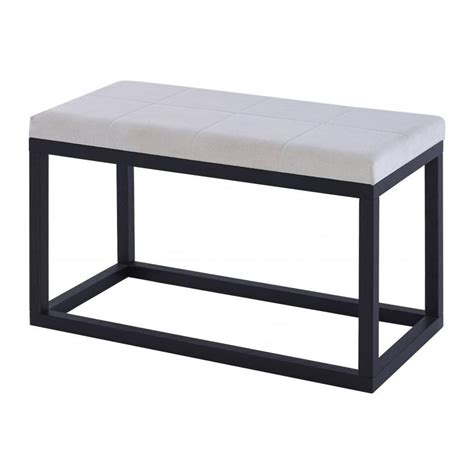 bench space buy gillmore space wenge upholstered large bench by fusion