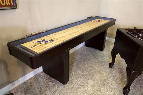 shuffleboard tables for sale costco 12 level best shuffleboard traditional mahogany