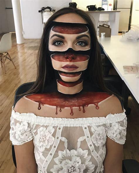ilusiones opticas halloween 20 alucinantes im 225 genes de ilusiones 243 pticas con maquillaje
