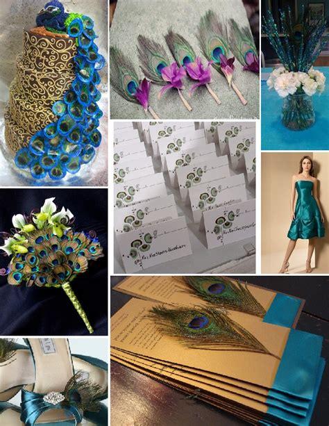 inspiration board peacock themed wedding bridal rs1