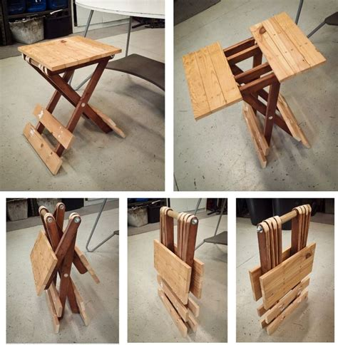 small folding table updated  style pinterest