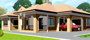 House Design Ghana House Plans Adehyi House Plan